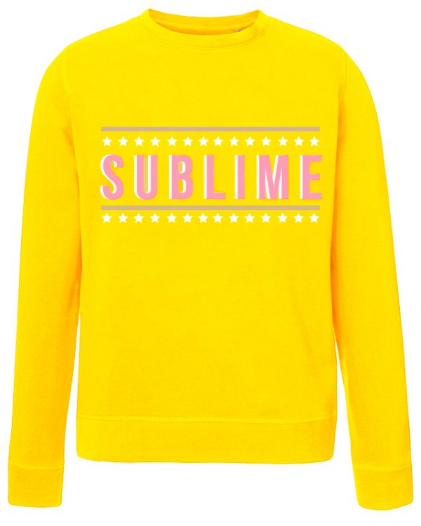 VN LABEL Sublime Sweater Geel