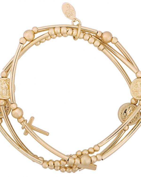 SC Have Faith Bracelet Goud
