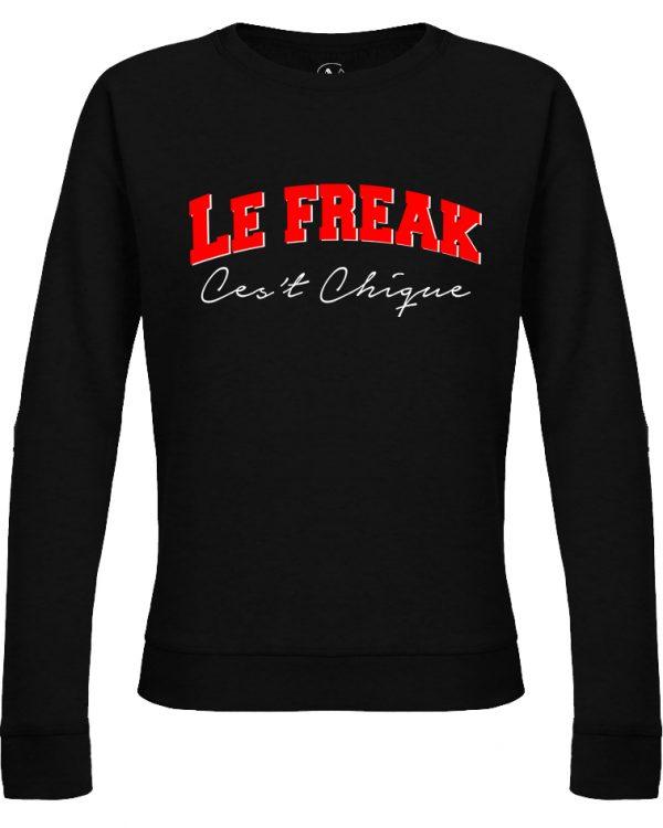 VN LABEL Le Freak Sweater Black