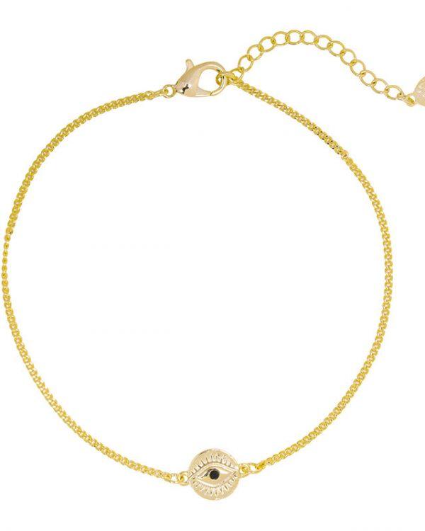 SC Curious Eyes Bracelet Gold