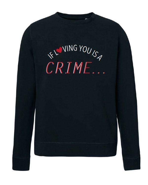 VN Label Crime Black