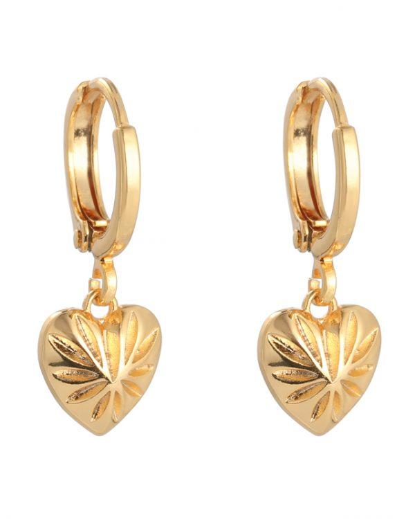SC Earrings Love Story Goud