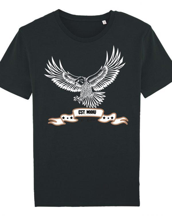 VN Label Eagle Black Tee