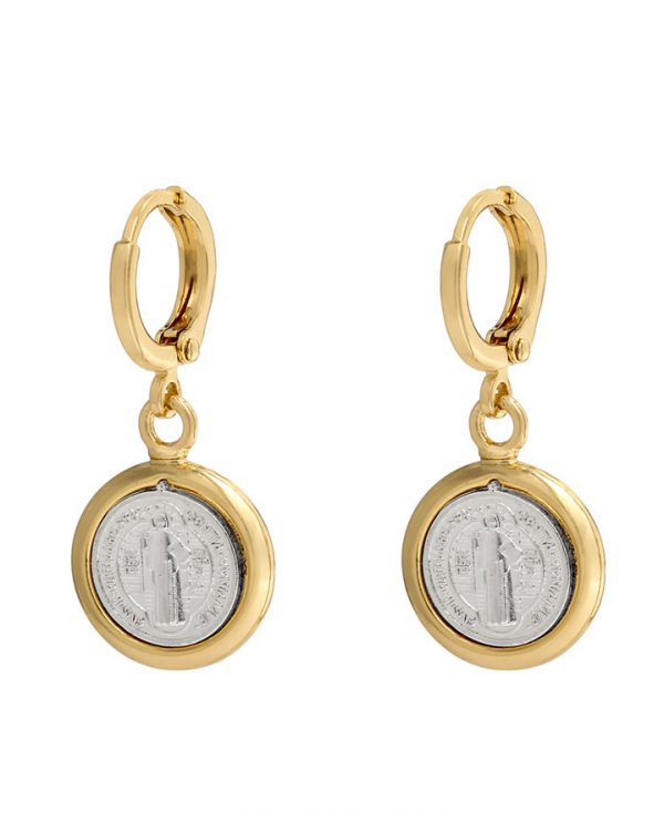 SC Holy Earrings Gold/Silver