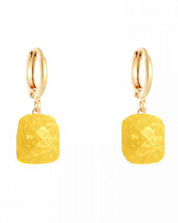 SC Call It Magic Earrings Gold Yellow