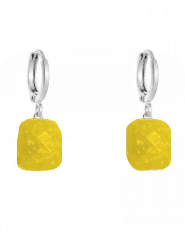 SC Call It Magic Earrings Silver Yellow