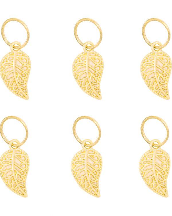 SC Leaves Braid Rings Gold