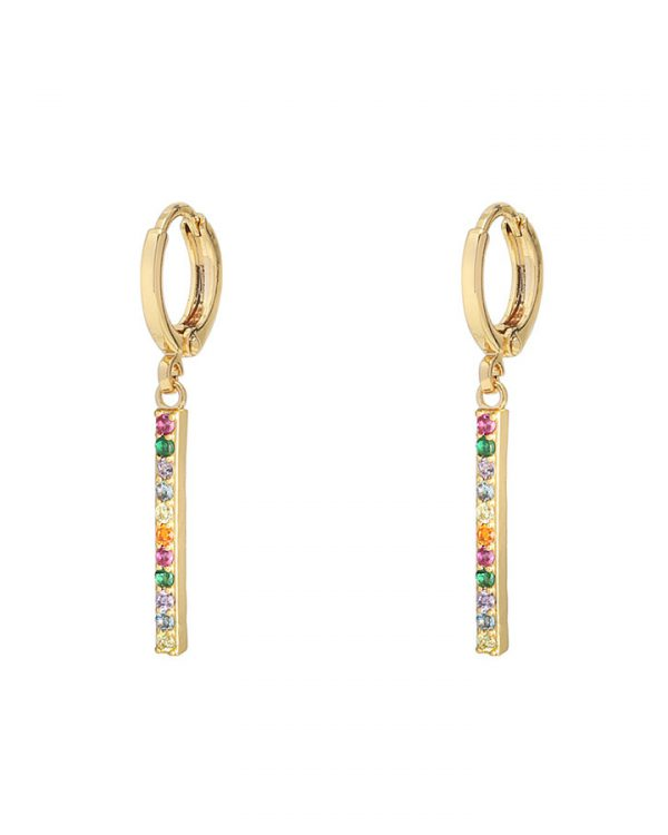 SC Glitter And Glamour Earrings Gold