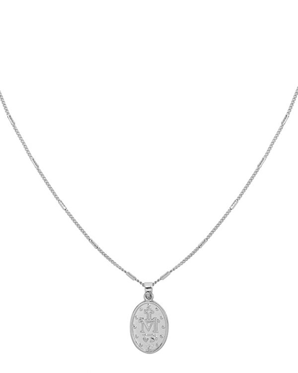 SC The Mary Necklace Silver