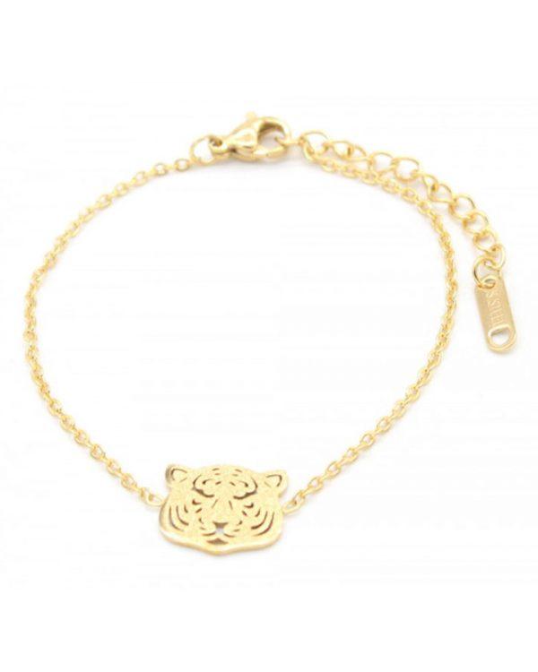 SC Tiger Bracelet Gold
