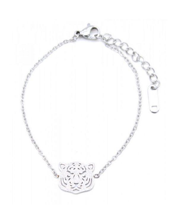 SC Tiger Bracelet Silver
