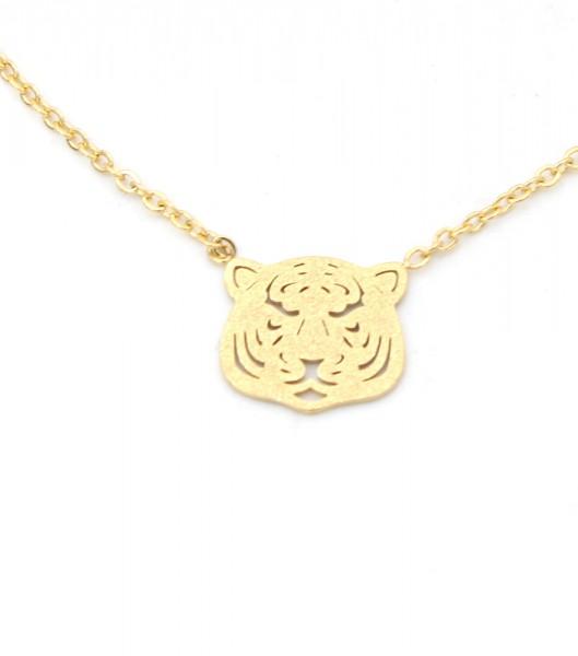 SC Tiger Necklace Gold