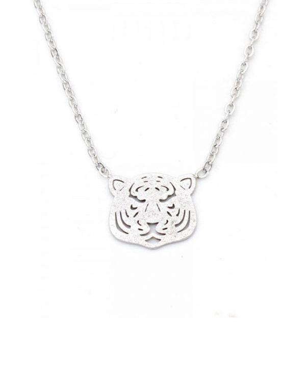 SC Tiger Necklace Silver