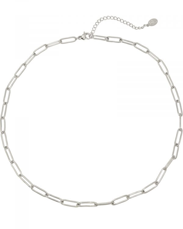 SC Chained Up Necklace Silver