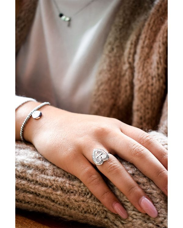 SC Indy Love Ring Silver