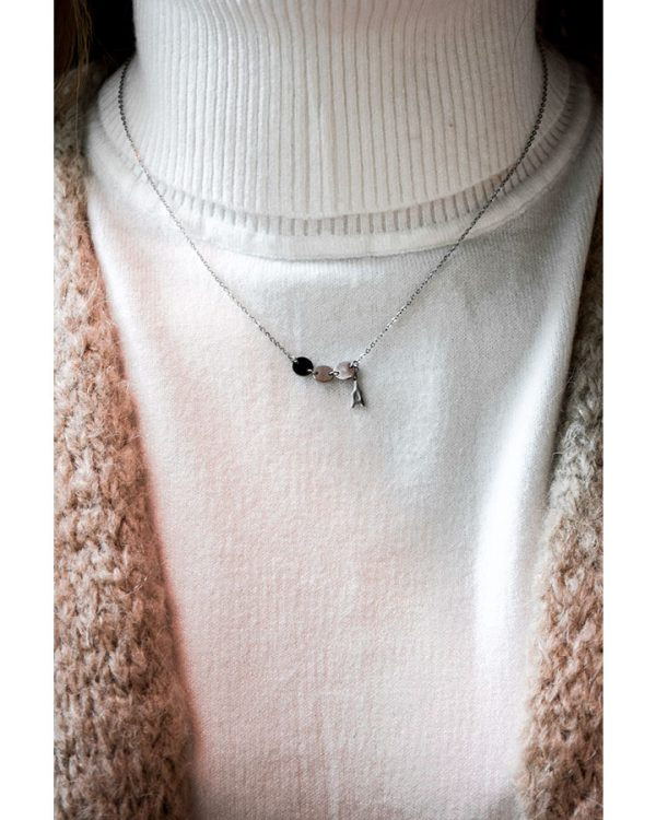 SC Lovely Paris Necklace Silver