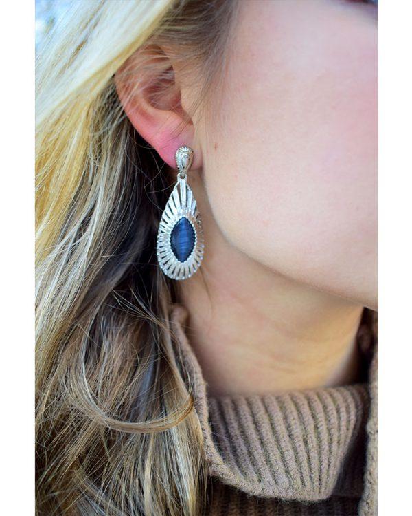 SC Earrings Funky Cocktail Silver