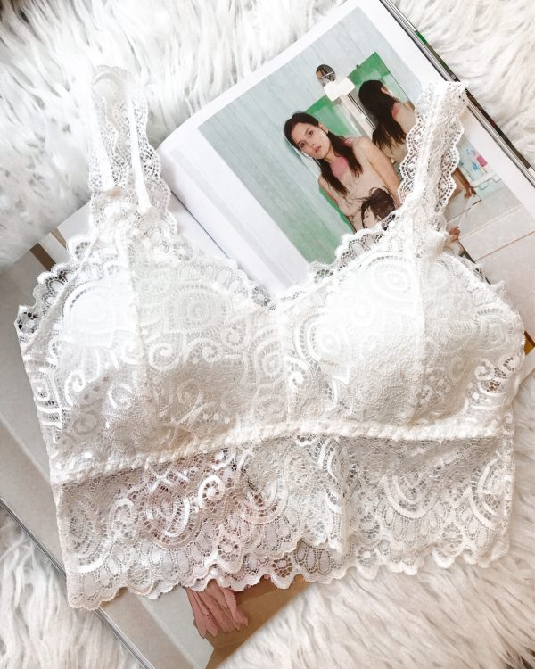 SC Lace Bralette White