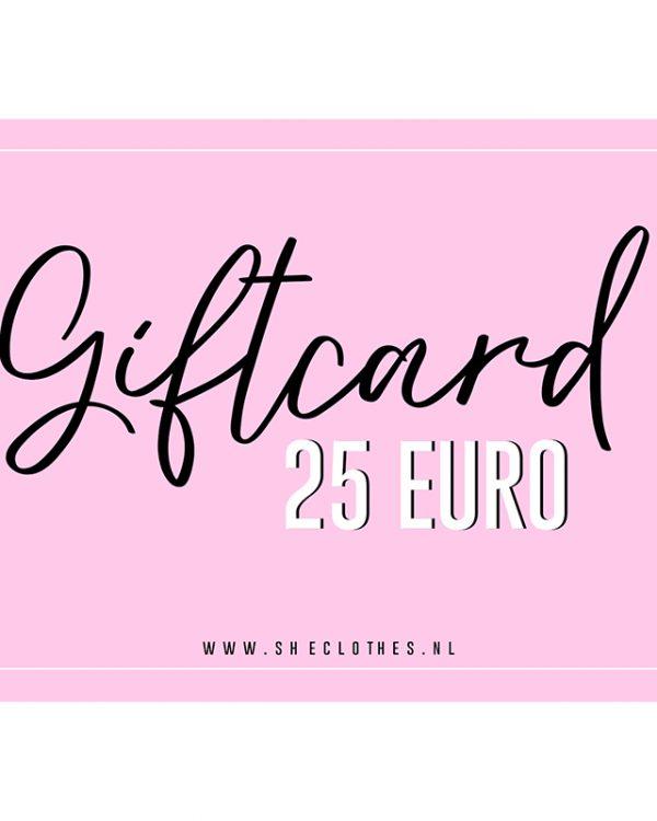 SC Giftcard 25 Euro