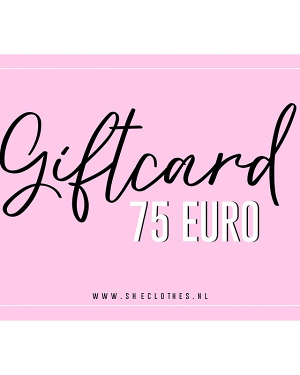 SC Giftcard 75 Euro