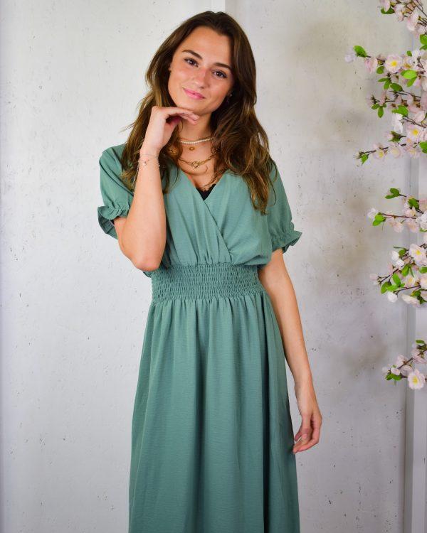 SC saskia dress green